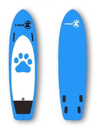 paddleboard X-Morph Blue Teddy 30-80